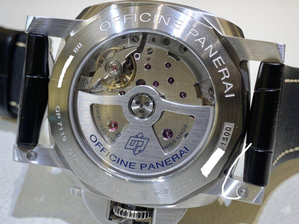 世界を飛び回る方必見!ルミノール GMT パワーリザーブ(PAM01321)~パネライ~-PANERAI -IMG_1960