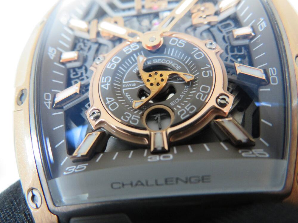 CVSTOS(クストス)高級感のゴールドと上品なグレー、ダンディな高級機械式時計!チャレンジ ジェットライナーⅡ P-S オートマティック!!-CVSTOS -IMG_2264