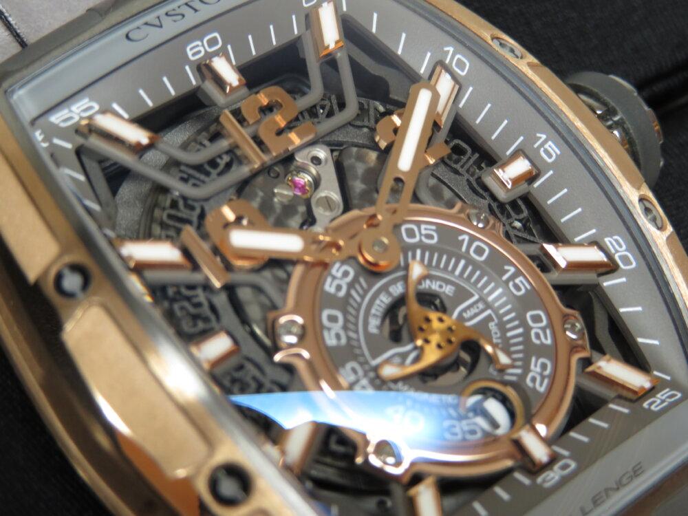 CVSTOS(クストス)高級感のゴールドと上品なグレー、ダンディな高級機械式時計!チャレンジ ジェットライナーⅡ P-S オートマティック!!-CVSTOS -IMG_2266