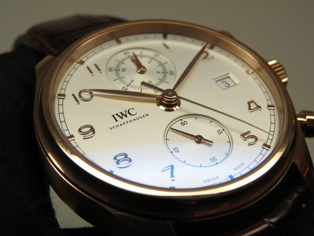 IWC クラシカルなデザインとレッドゴールドが上品で上質!ポルトギーゼ・クロノグラフ・クラシック!!-IWC -IMG_2278