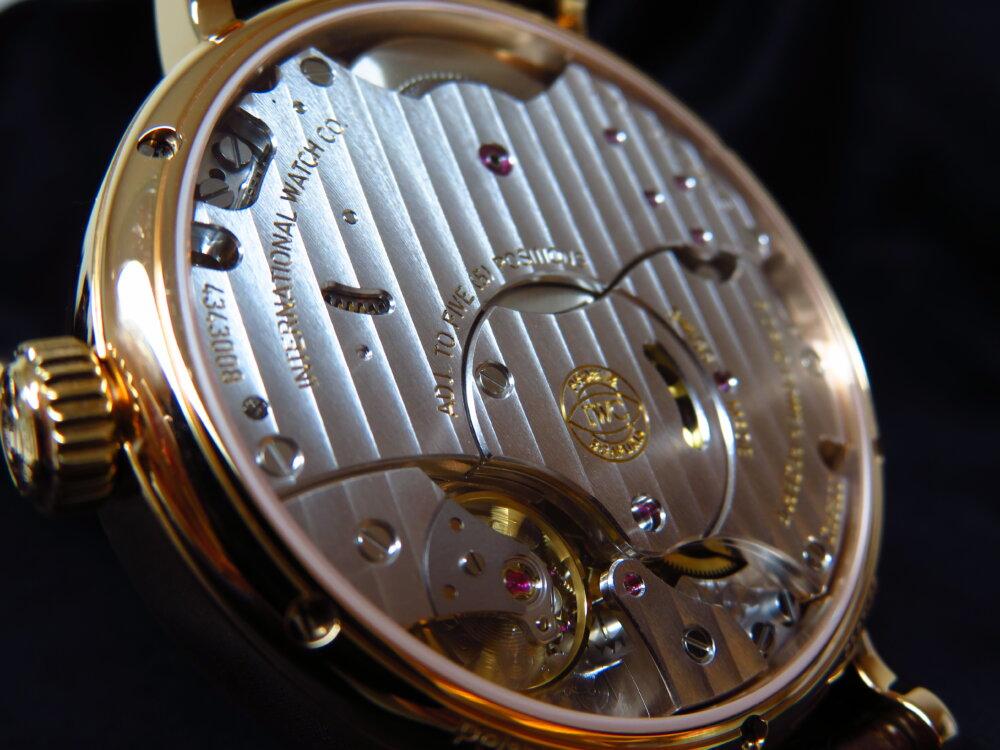 IWC 優雅で繊細な高級機械式時計!シンプルでオシャレなポートフィノ・ハンドワインド・ムーンフェイズ!!-IWC -IMG_2579