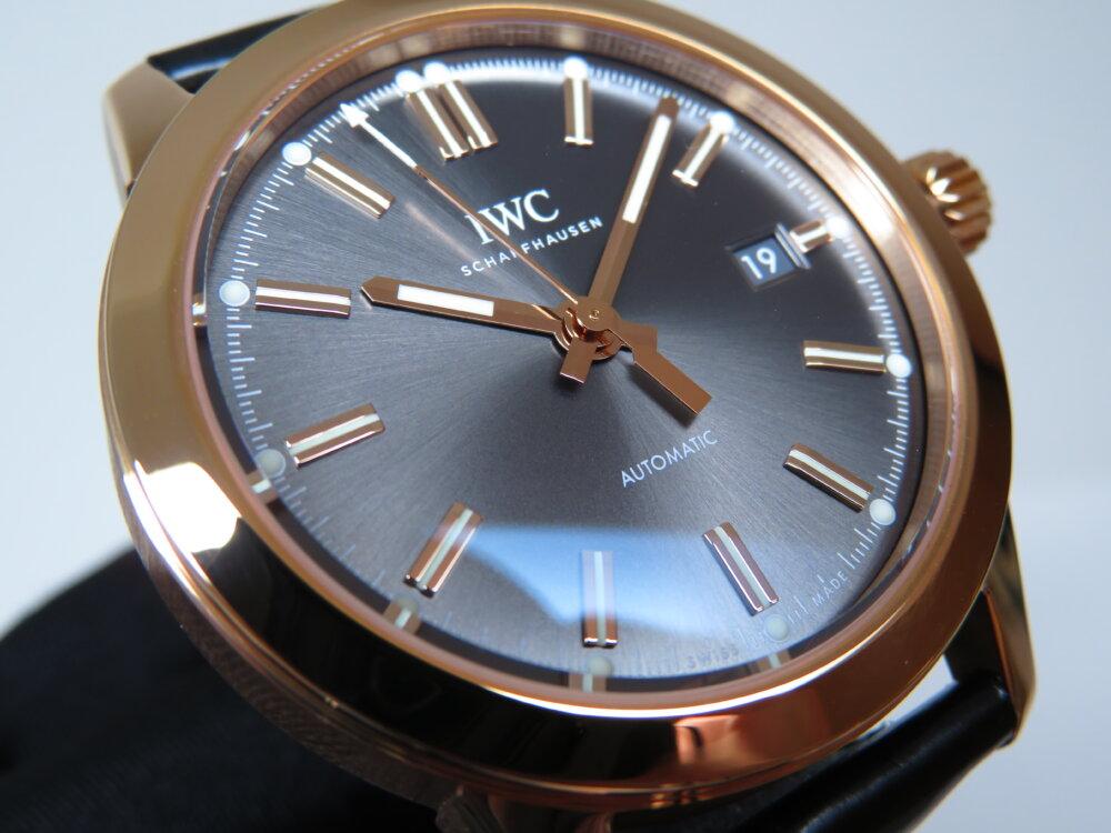 ウィンターフェア開催中!高級機械式時計、大人への一歩はゴールドケース!IWCインヂュニア・オートマティック!-IWC -IMG_2817