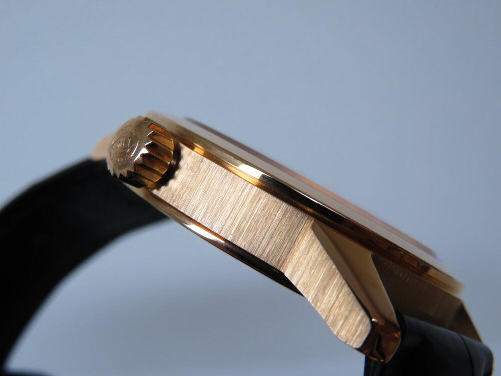 ウィンターフェア開催中!高級機械式時計、大人への一歩はゴールドケース!IWCインヂュニア・オートマティック!-IWC -IMG_2818