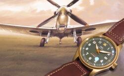 ウィンターフェア開催中!ブロンズケースとグリーン文字盤が異彩を放つ高級時計!IWC 2019年新作 パイロット・ウォッチ・オートマティック・スピットファイア!!