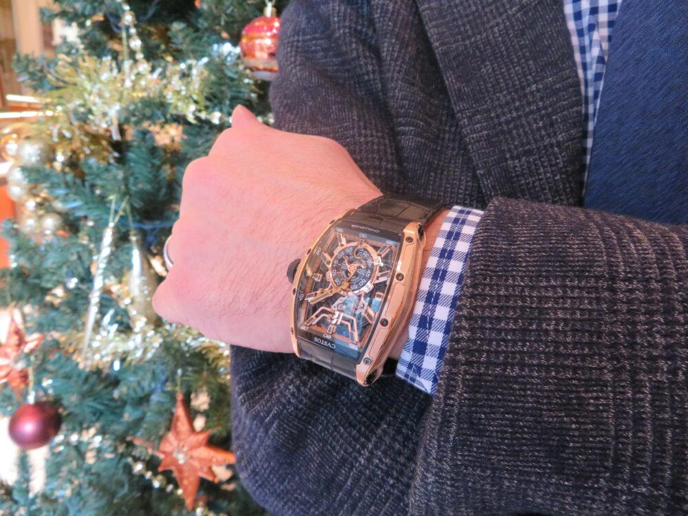 ウィンターフェア開催中!クリスマスプレゼントや自分へのご褒美に!!CVSTOS チャレンジ ジェットライナーⅡ P-S ゴールドモデル!!-CVSTOS -IMG_0181