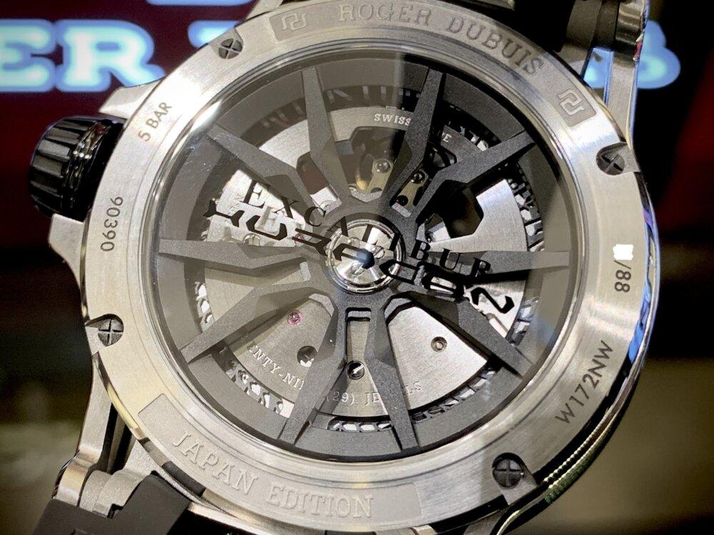 大人を満足させられる拘りの腕時計。エクスカリバーウラカン日本限定!!~ロジェ・デュブイ~-ROGER DUBUIS -IMG_2240