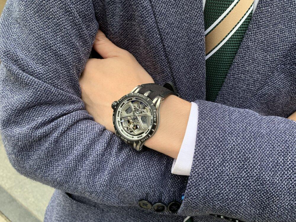 大人を満足させられる拘りの腕時計。エクスカリバーウラカン日本限定!!~ロジェ・デュブイ~-ROGER DUBUIS -IMG_2254