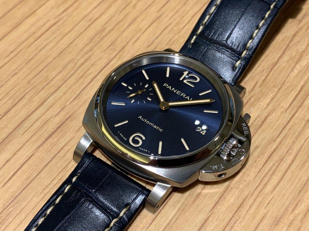 """""""パートナーとシェアで使える時計""""ルミノール ドゥエ 38mm~パネライ~-PANERAI -IMG_2661"""