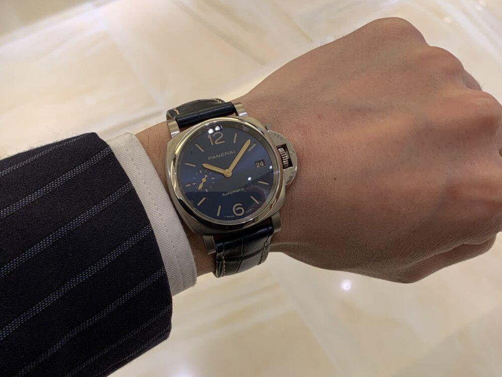 """""""パートナーとシェアで使える時計""""ルミノール ドゥエ 38mm~パネライ~-PANERAI -IMG_2665"""