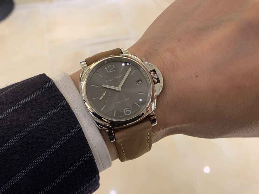 """""""パートナーとシェアで使える時計""""ルミノール ドゥエ 38mm~パネライ~-PANERAI -IMG_2666"""