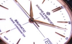 ボーマティックに新しくレッドゴールドケースを採用した「クリフトン ボーマティック COSC」が登場。