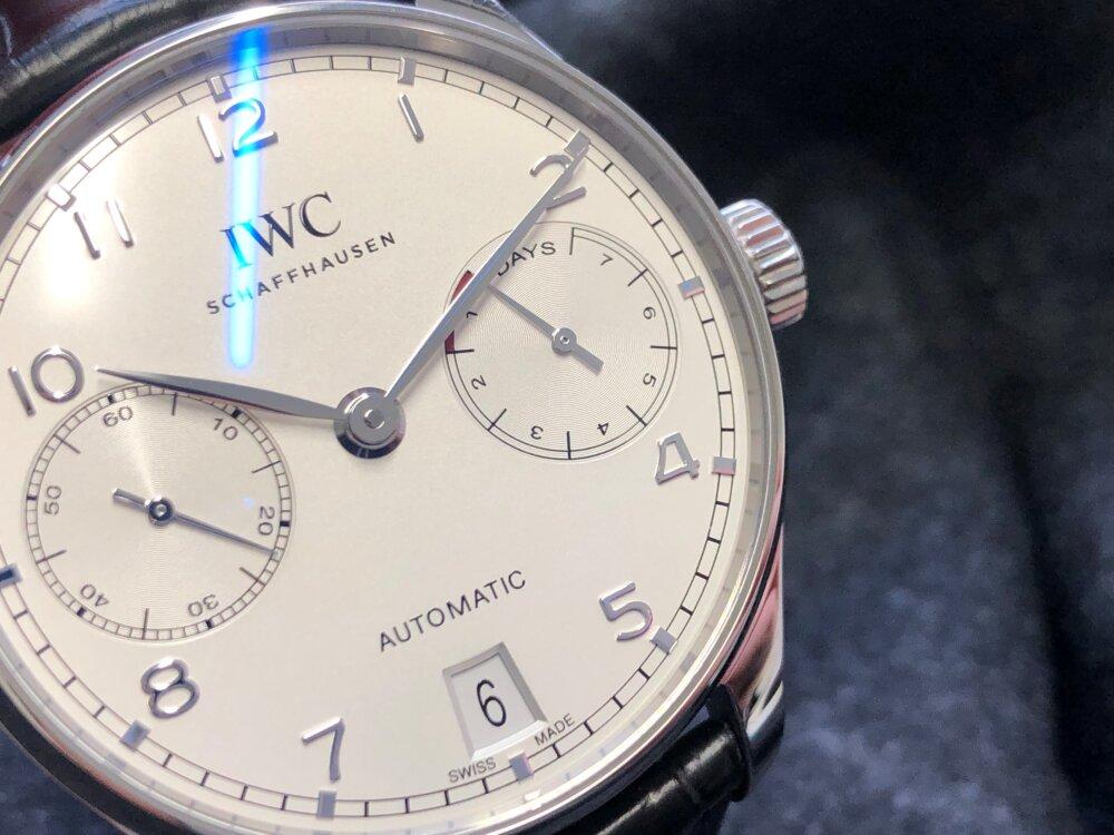 紳士の魅力を引き出す腕時計、IWC「ポルトギーゼ・オートマティック」をご紹介。-IWC -2-3