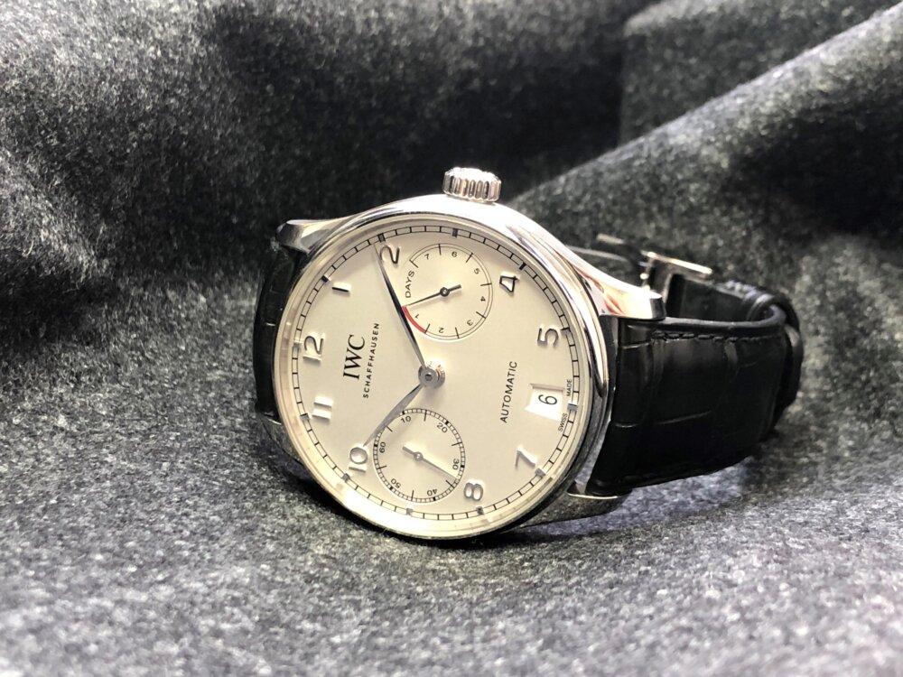 紳士の魅力を引き出す腕時計、IWC「ポルトギーゼ・オートマティック」をご紹介。-IWC -3-3