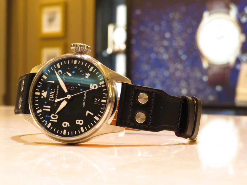 無骨でシンプル!男の高級機械式時計は IWC ビッグ・パイロット・ウォッチ!!-IWC -IMG_0468