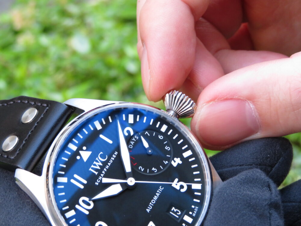 無骨でシンプル!男の高級機械式時計は IWC ビッグ・パイロット・ウォッチ!!-IWC -IMG_0470