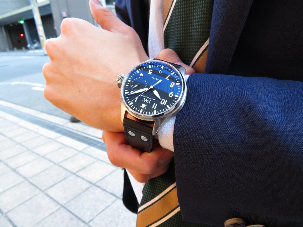 無骨でシンプル!男の高級機械式時計は IWC ビッグ・パイロット・ウォッチ!!-IWC -IMG_0474