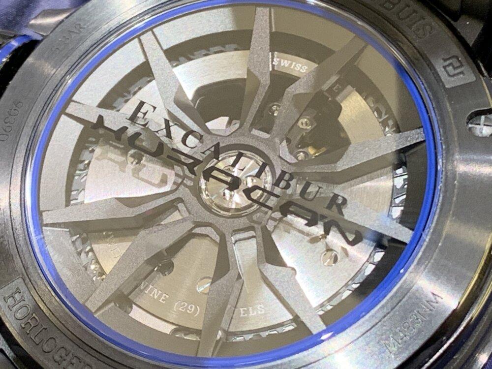 待望の再入荷!!最強のタッグモデル、エクスカリバー ウラカン~ロジェ・デュブイ~-ROGER DUBUIS -IMG_2846