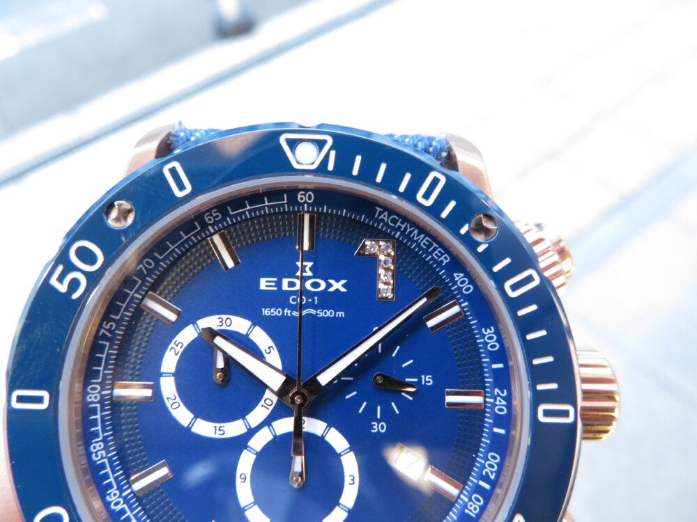 限定135本、パワーボートレスの世界観を巧みに表現、EDOXクロノオフショア1クロノグラフリミテッドエディション-EDOX その他 -IMG_8938-1