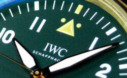 個性的なオリーブグリーン文字盤が渋い! IWC「パイロット・ウォッチ・オートマティック・スピットファイア」
