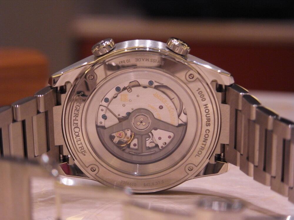 """""""時間に追われるのでなく、時間を自ら管理したい"""" ビジネスマンにお薦め!ジャガールクルト-Jaeger-LeCoultre -R1175225"""
