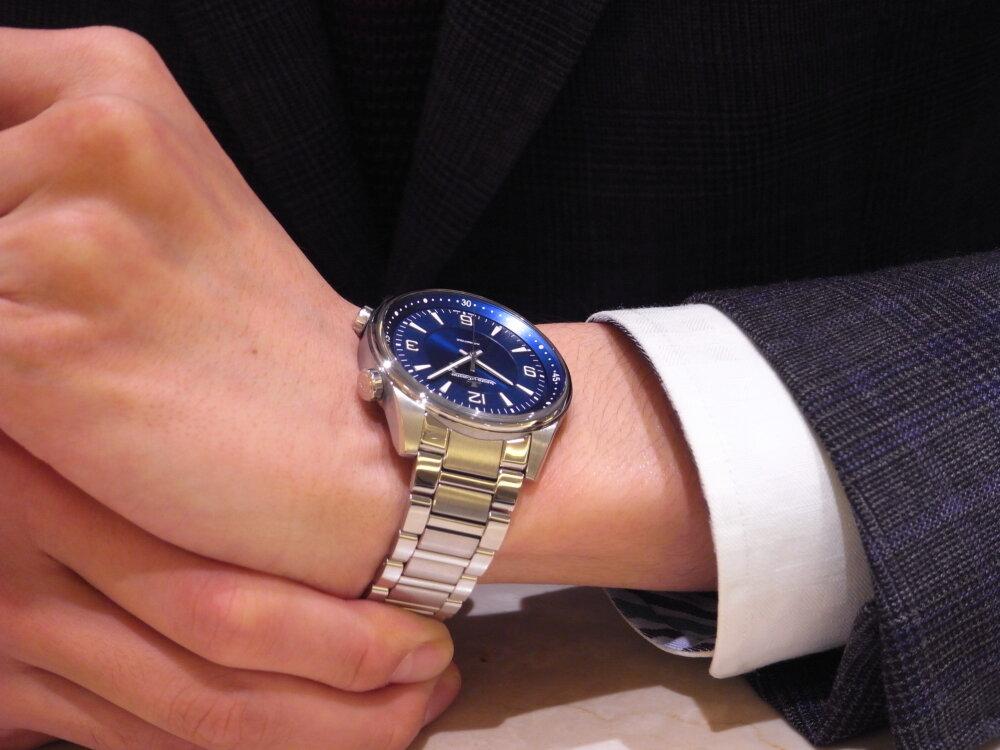 """""""時間に追われるのでなく、時間を自ら管理したい"""" ビジネスマンにお薦め!ジャガールクルト-Jaeger-LeCoultre -R1175229"""