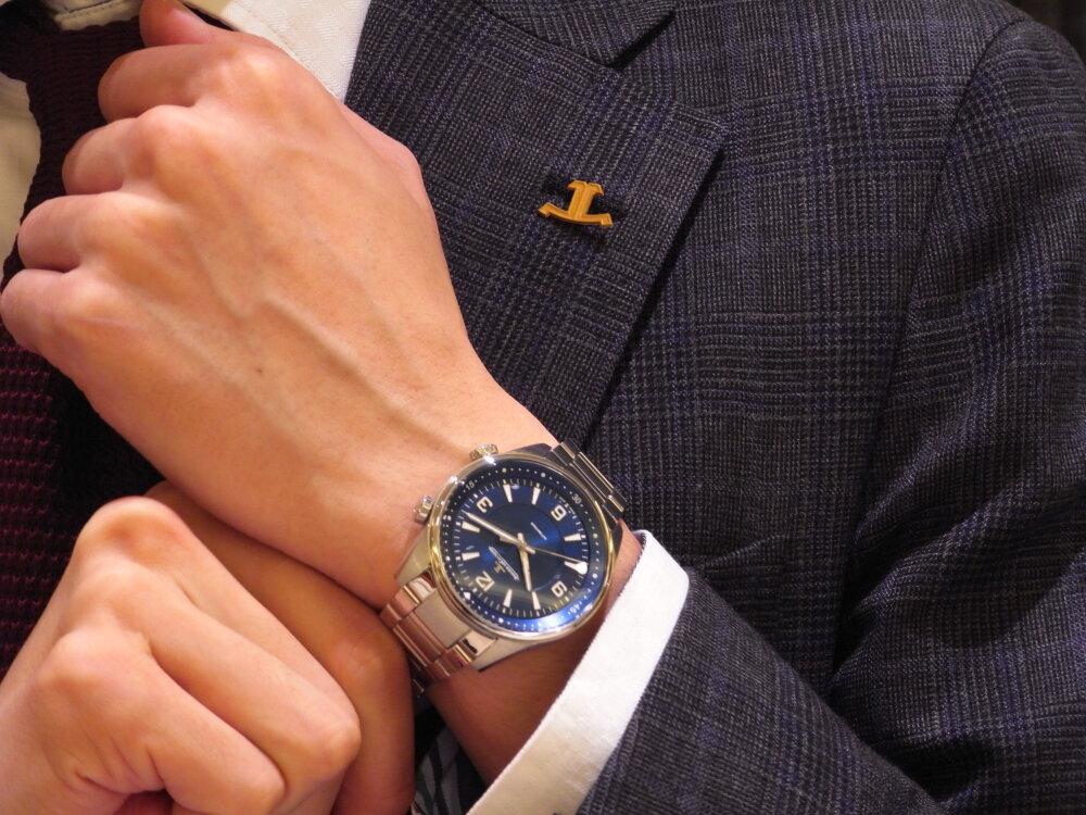 """""""時間に追われるのでなく、時間を自ら管理したい"""" ビジネスマンにお薦め!ジャガールクルト-Jaeger-LeCoultre -R1175235"""