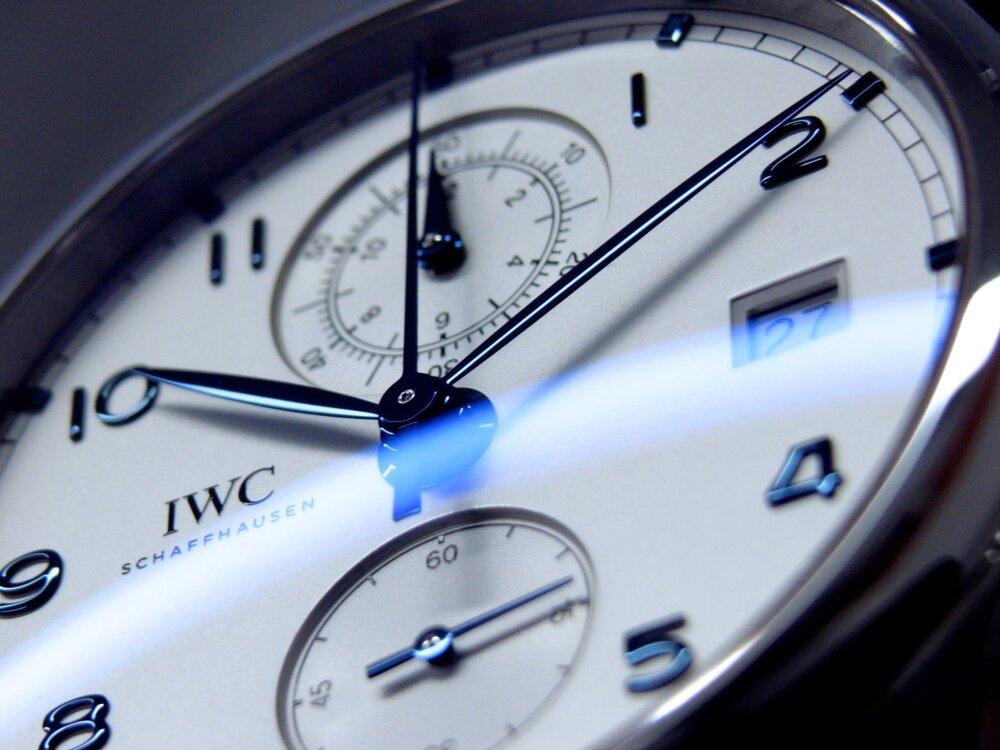 シンプルで風格のある佇まい「ポルトギーゼ・クロノグラフ・クラシック」IWC-IWC -R1175703