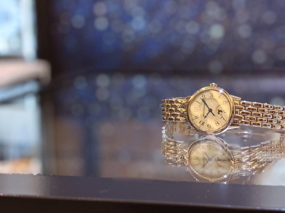 女性に着けてもらいたい、機械式時計 ジャガールクルト 「ランデヴー ナイト&デイ」-Jaeger-LeCoultre -2b75e2cb260645b5dce748a34788addd