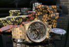 そのデザインと上品さは大人の佇まい!!IWC インヂュニア・クロノグラフ 18Kレッドゴールドモデル!!