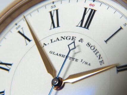 最高水準の精度と理想的な視認性!  A.ランゲ&ゾーネ「リヒャルト・ランゲ」LS2324AD