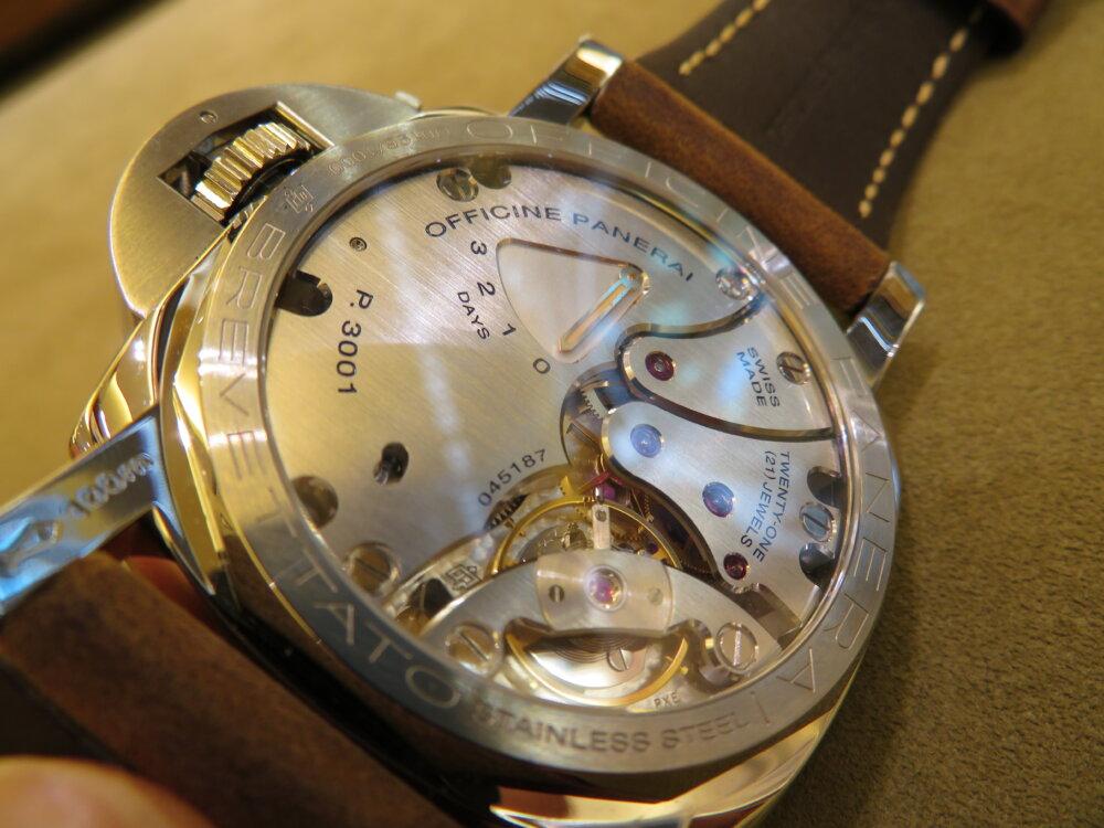 ファッションの必需品として高級時計パネライはいかがでしょうか?ルミノールマリーナ47mm-PANERAI -IMG_9662