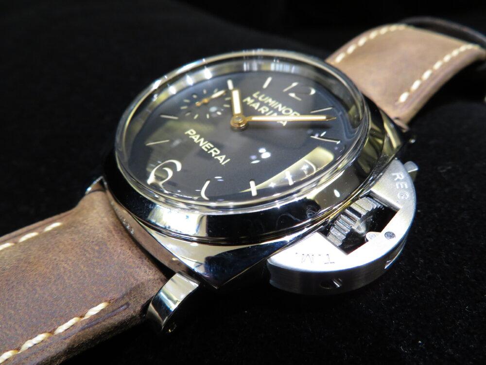 ファッションの必需品として高級時計パネライはいかがでしょうか?ルミノールマリーナ47mm-PANERAI -IMG_9673