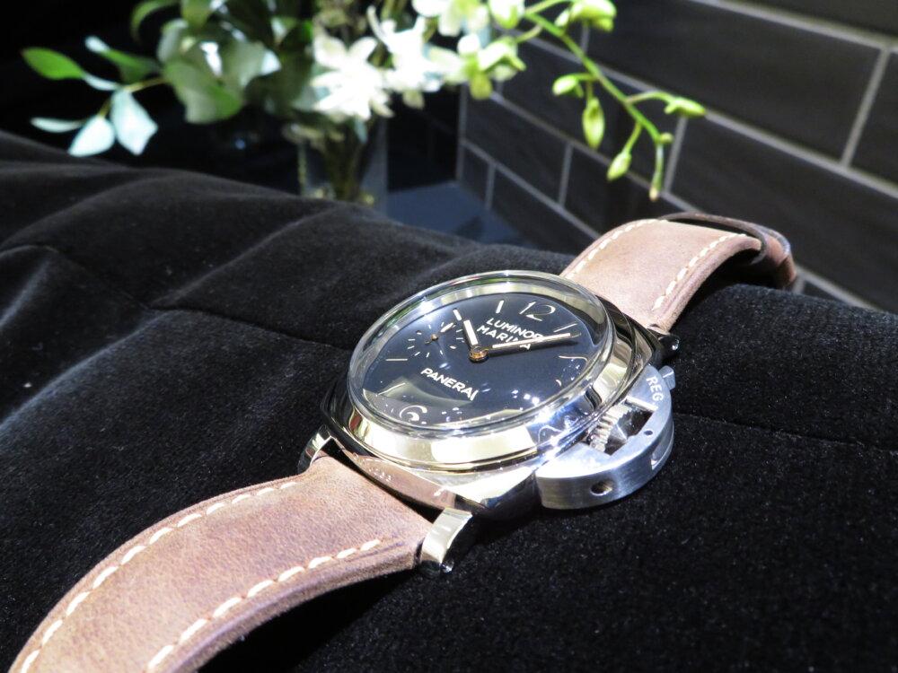ファッションの必需品として高級時計パネライはいかがでしょうか?ルミノールマリーナ47mm-PANERAI -IMG_9674