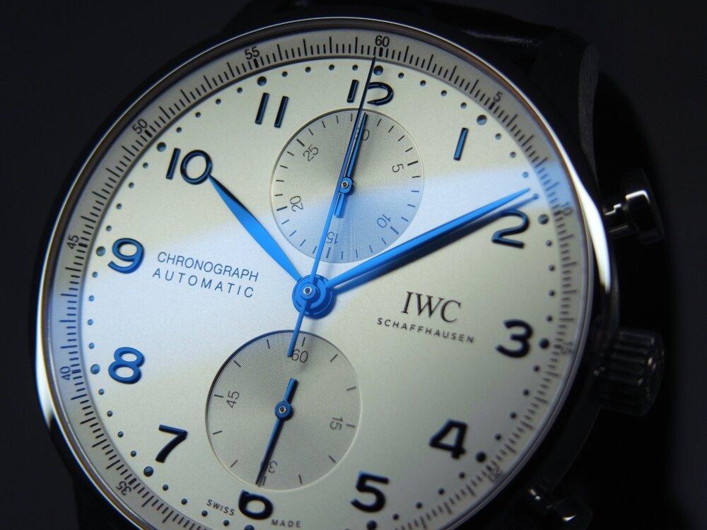 シンプルに着けこなしたい!! IWC ポルトギーゼ・クロノグラフ!!-IWC -R1175850-1