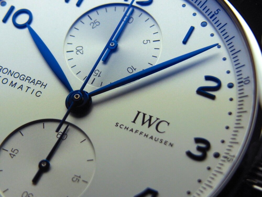 シンプルに着けこなしたい!! IWC ポルトギーゼ・クロノグラフ!!-IWC -R1175857