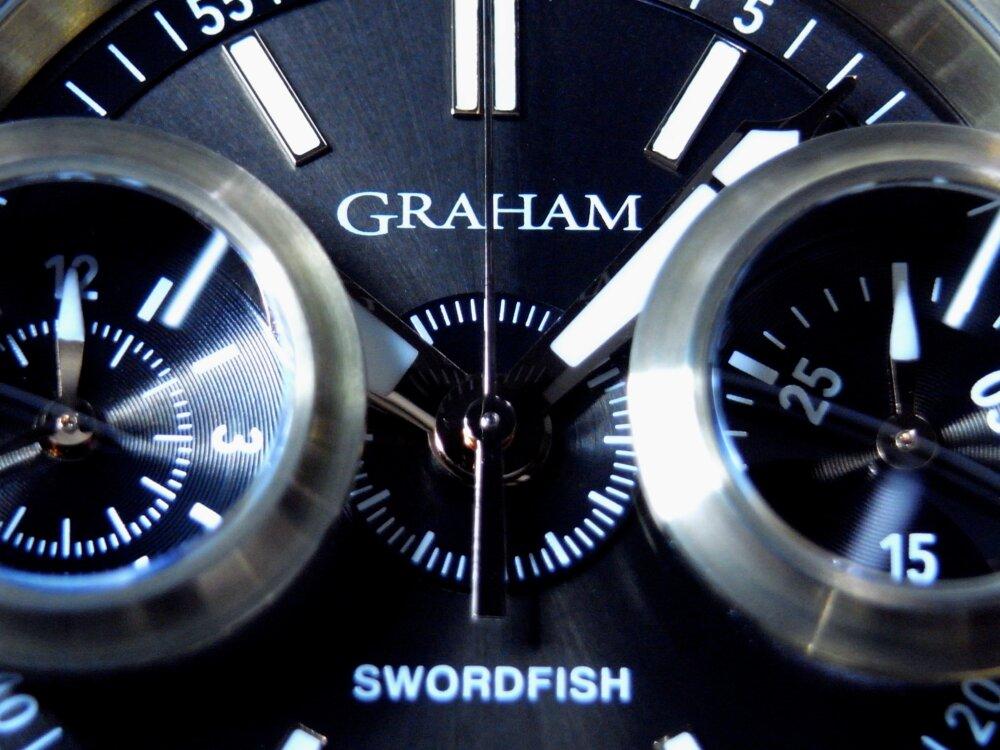 ファン待望の魚眼レンズを備えた伝説のクロノグラフ「ソードフィッシュ」が復活 グラハム-GRAHAM -R1176273