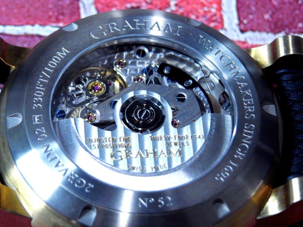 ファン待望の魚眼レンズを備えた伝説のクロノグラフ「ソードフィッシュ」が復活 グラハム-GRAHAM -R1176289