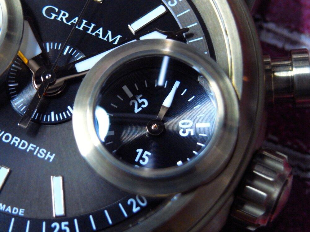 ファン待望の魚眼レンズを備えた伝説のクロノグラフ「ソードフィッシュ」が復活 グラハム-GRAHAM -R1176299