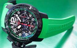 グリーンのカラーが映える!グラハム(GRAHAM)クロノファイター スーパーライト カーボン