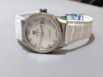 タグホイヤーのレディース時計!スポーティーかつラグジュアリーなデザインが魅力!「カレラ レディ」