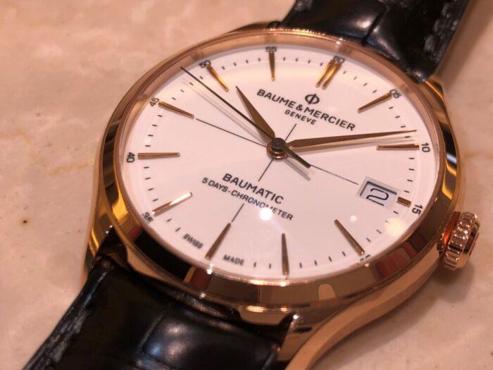 優れた腕時計を、優れたコストパフォーマンスで。ボーム&メルシエから「クリフトン ボーマティック」をご紹介。-BAUME&MERCIER -1-700x525