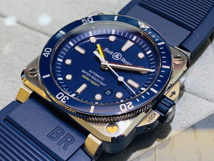 海でも街中でも大活躍!!BR 03-92 DIVER BLUE~ベル&ロス~-Bell&Ross -IMG_3945-700x525