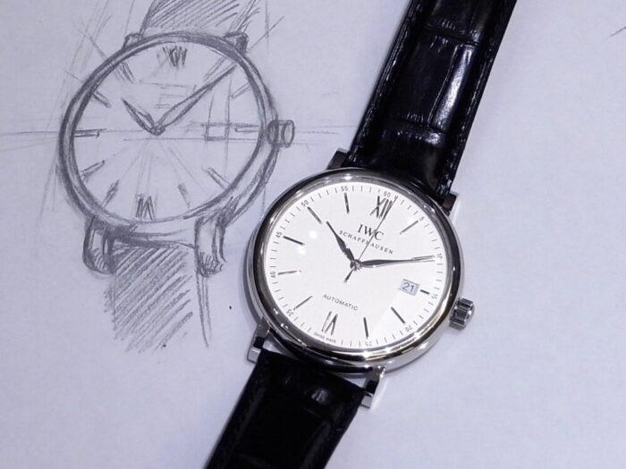 IWC 純粋な極上の美しさを湛える時計 ポートフィノ・オートマティック-IWC -R1164403-700x525