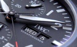IWC マットブラックのデザインコードがカッコいい! パイロット・ウォッチ・ダブルクロノグラフ・トップガン・セラタニウム
