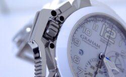 ホワイトセラミックベゼルが美しい!グラハム「クロノファイター オーバーサイズ ブラック&ホワイト」