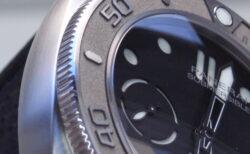パネライ エコチタンケース採用の サブマーシブル  マイク・ホーン エディション 47MM PAM00984