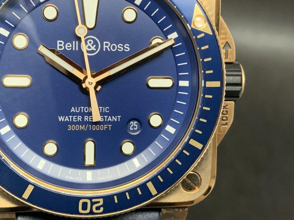 2020年新作入荷しました!!毎年、早期完売してしまうブロンズモデルBR03ダイバーブルーブロンズ~ベル&ロス~-Bell&Ross -IMG_4504