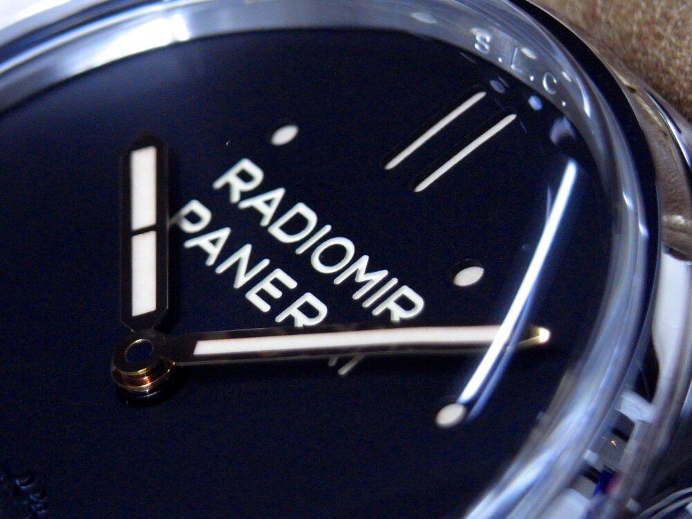 パネライ  春の装いにブラウンコーディネート ラジオミール S.L.C PAM00425-PANERAI -R1177189
