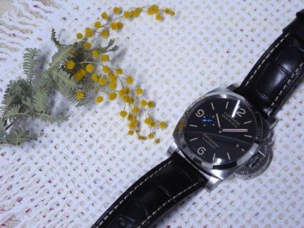 パネライの人気モデル ルミノール マリーナ1950 3デイズ オートマティック アッチャイオ PAM01312