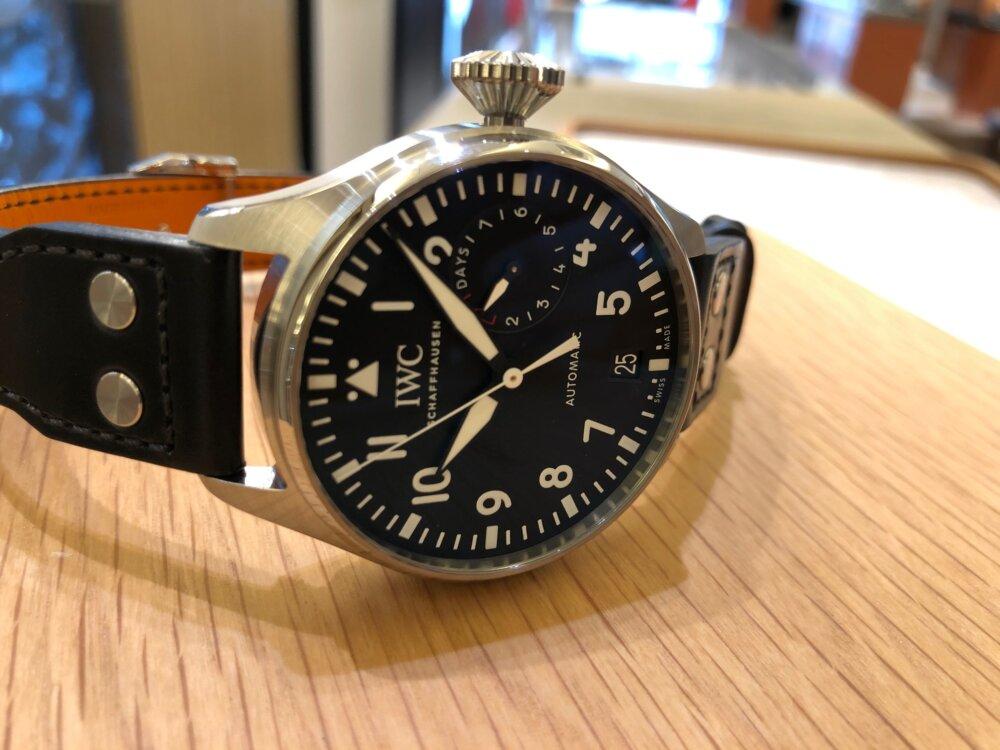 初代パイロットウォッチをベースとした男の高級機械式時計!!IWC ビッグ・パイロット・ウォッチ!!-IWC -image0